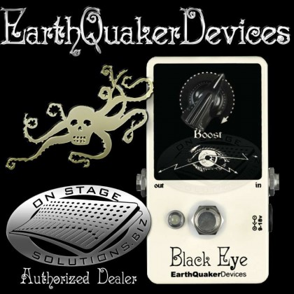 EarthQuaker Devices Black Eye Clean Boost Pedal