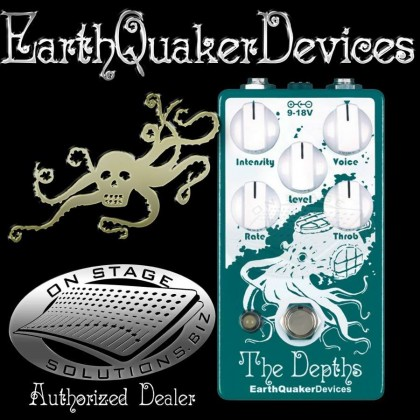 EarthQuaker Devices Depths, The Optical Vibe Pedal