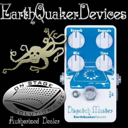 EarthQuaker Devices Dispatch Master Delay/Reverb Pedal