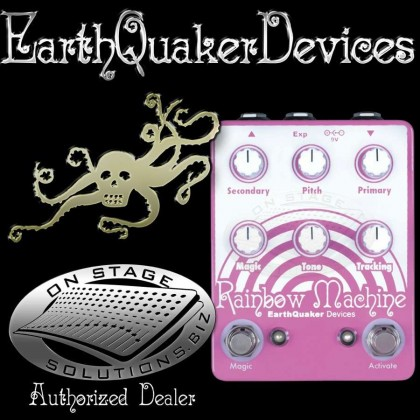 EarthQuaker Devices Rainbow Machine Polyphonic Pitch Shifter Pedal