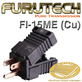 Furutech FI-15ME (Cu) Un-plated Pure Copper AC Power Plug