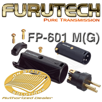 Furutech FP-601 M(G) - High End XLR Connector (Male) 1Pc/set