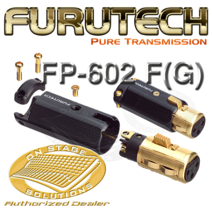 Furutech FP-602 F(G) - High End XLR Connector (Female) 1Pc/set