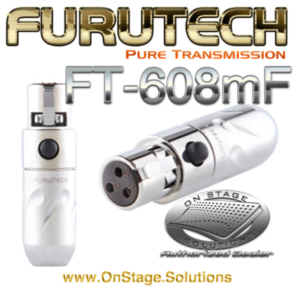 Furutech FT-608mF Mini XLR Female Plug
