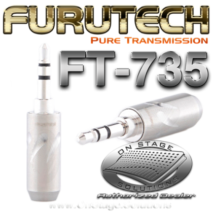 "Furutech FT-735(R) ⅛"" TRS (Stereo) Connector"