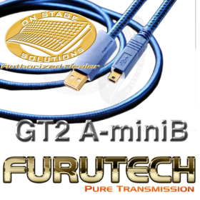 Furutech GT-2-USB-mini-B-0.6M High End USB 2.0 Cable (Type A-mini B)