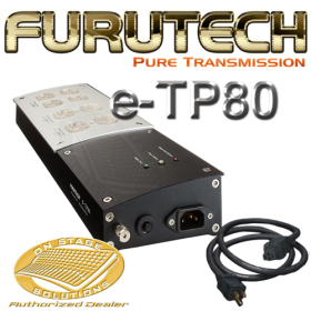 Furutech e-TP80 Power Distributor/AC Power Filter + GC-303