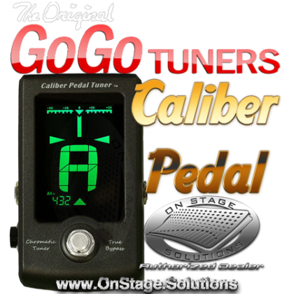 GoGo Tuners Caliber Pedal Tuner