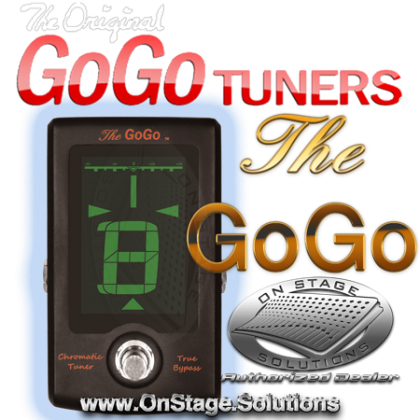 "GoGo Tuners ""The GoGo"" [BLACK] Ltd. Edition Pedal Tuner"