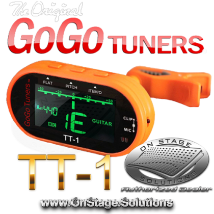 GoGo Tuners TT-1 Chromatic Clip-On Tuner