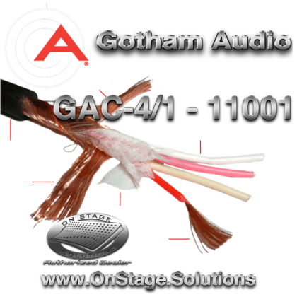 Gotham Audio GAC-4/1 11001 Star Quad Cable