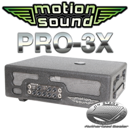 Motion Sound PRO-3X Rotary Horn Amp
