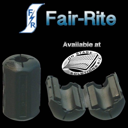Fair-Rite Noise Suppression Ferrite Bead for 5 mm cable NOS