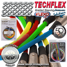 Techflex (ASK) Audio Snake Color Coding Kit