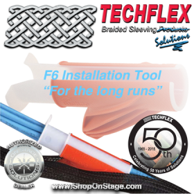 Techflex Flexo (INN) F6 Split Braided Wire Loom Installation Tool