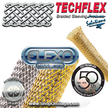 Techflex Mylar (MYN) Braided Sleeving