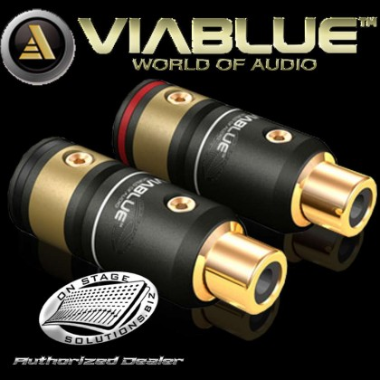 ViaBlue T6s RCA Jacks (Female) (2 Pcs)