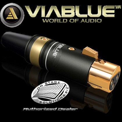 ViaBlue T6s XLR female Black (1 pc)