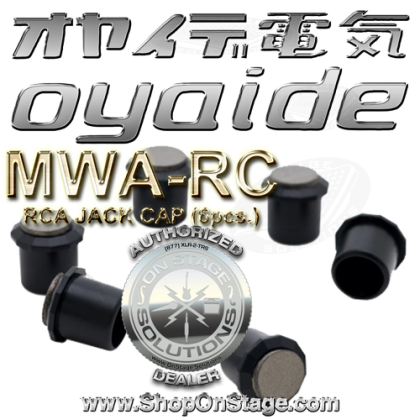 Oyaide NEO MWA-RC RCA jack covers