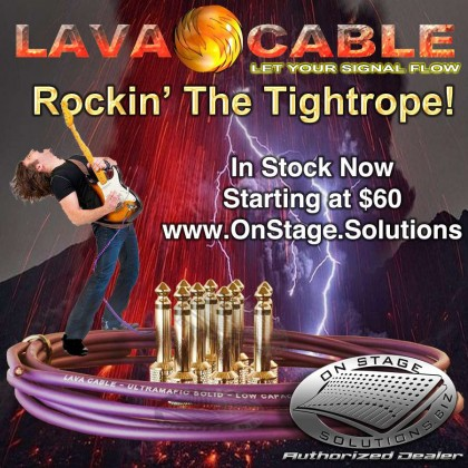 Lava Cable Pedal Board Kit™ Tightrope solder-free