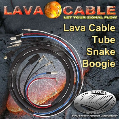 Lava Cable Power Tube™ Pedal board Snake