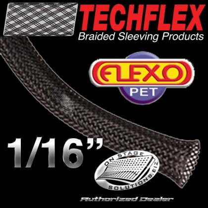 "Techflex Flexo PET 0.06"" Braided Sleeving"