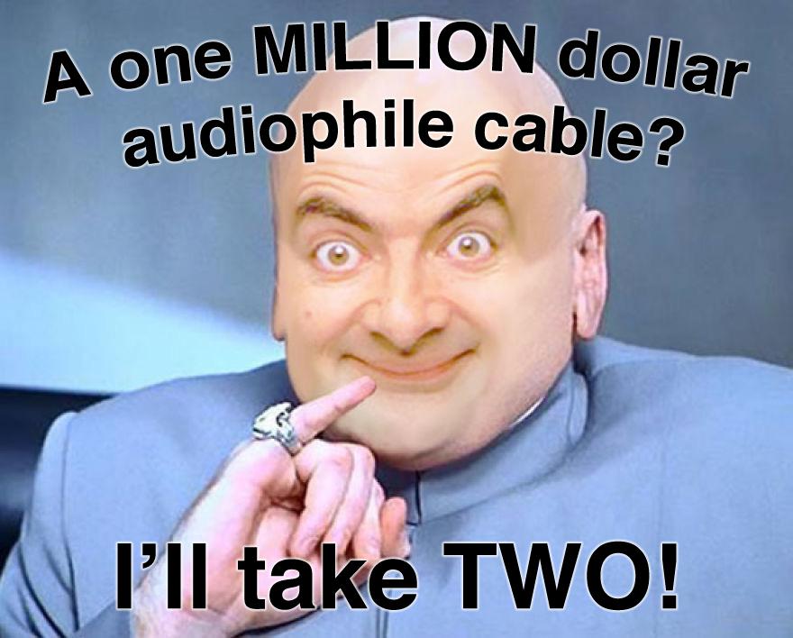 DR EVIL BEAN the audiophile\