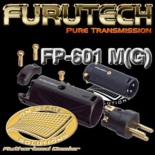 Furutech Fp 601 M G High End Xlr Connector Male 1pc Set