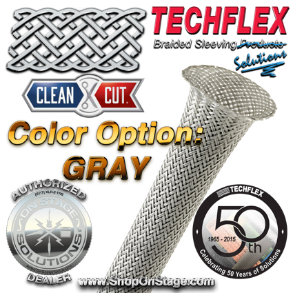 Techflex Clean Cut color option Gray