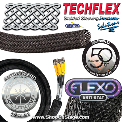Techflex Flexo Anti-Stat (CNN) Conductive cable sleeving