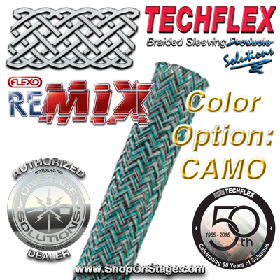Techflex Flexo ReMix color option: Camo