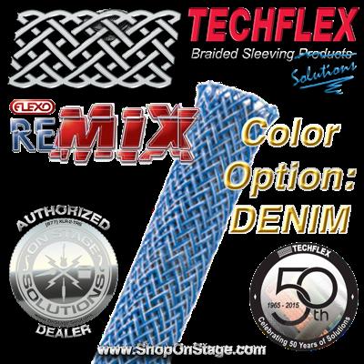 Techflex Flexo ReMix color option: Denim