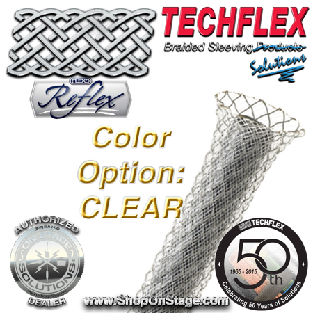 Techflex Flexo Reflex color option: Clear