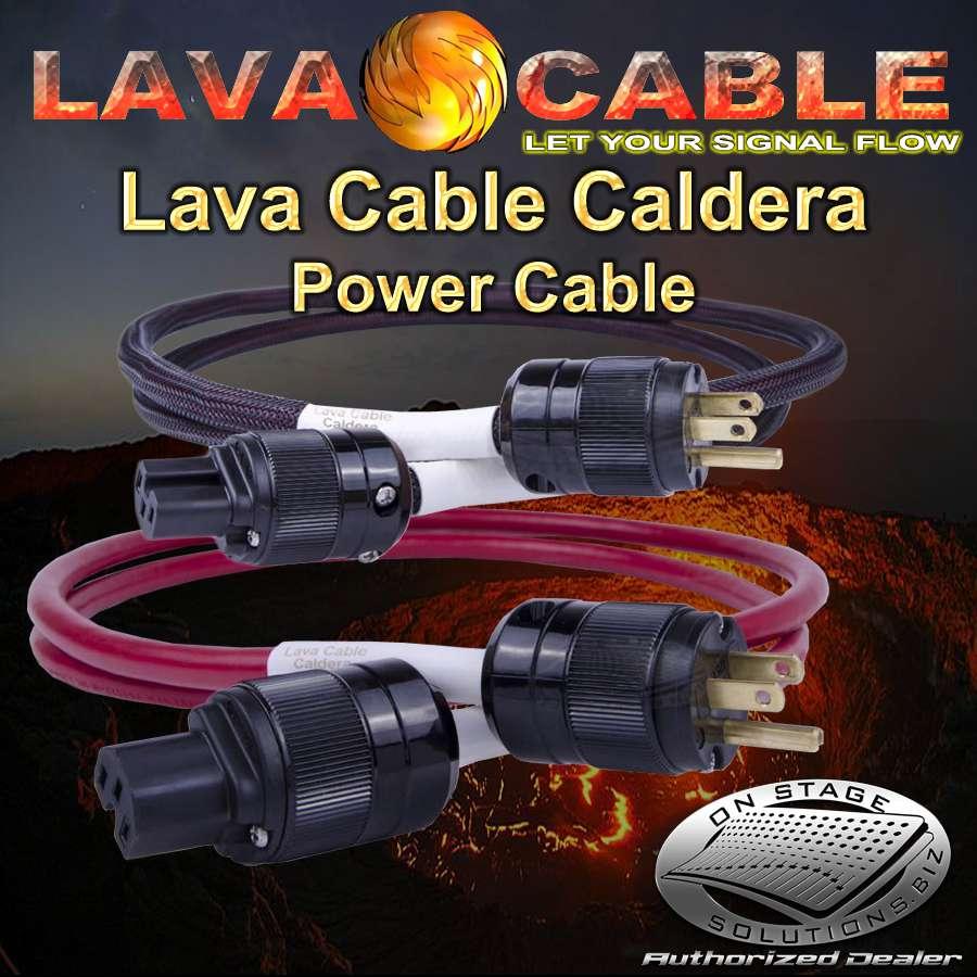 Lava Cable Caldera Ac Power Cord