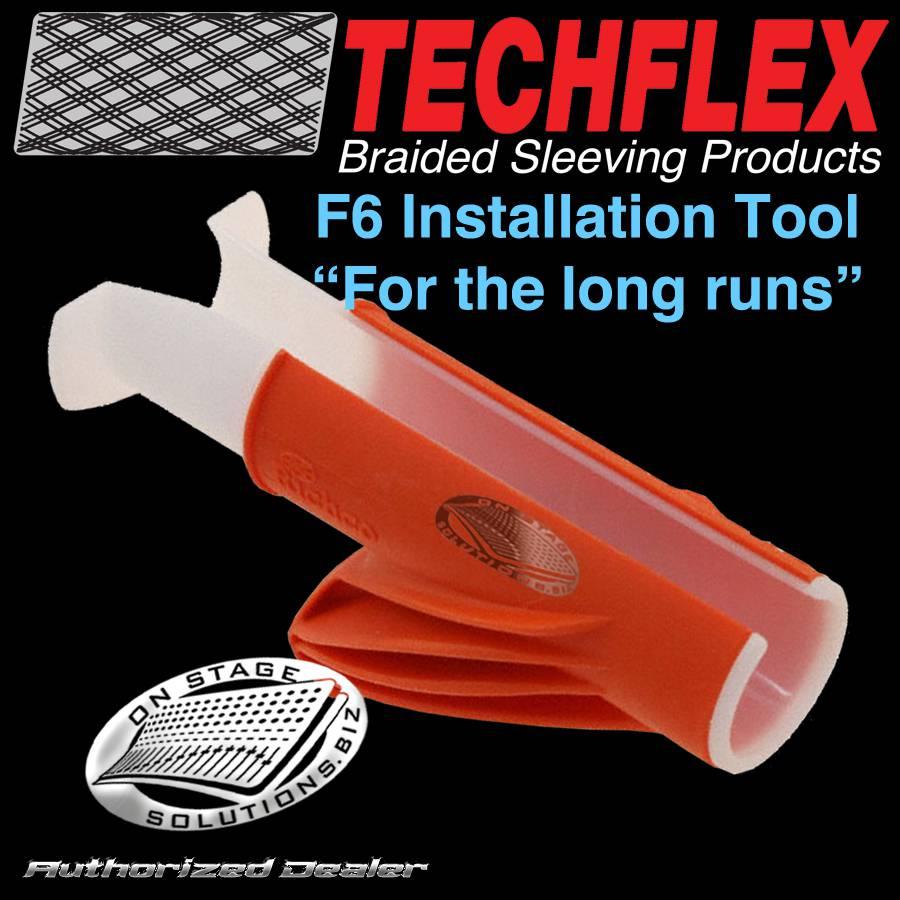Techflex Flexo F6 Split Braided Wire Loom Installation Tool