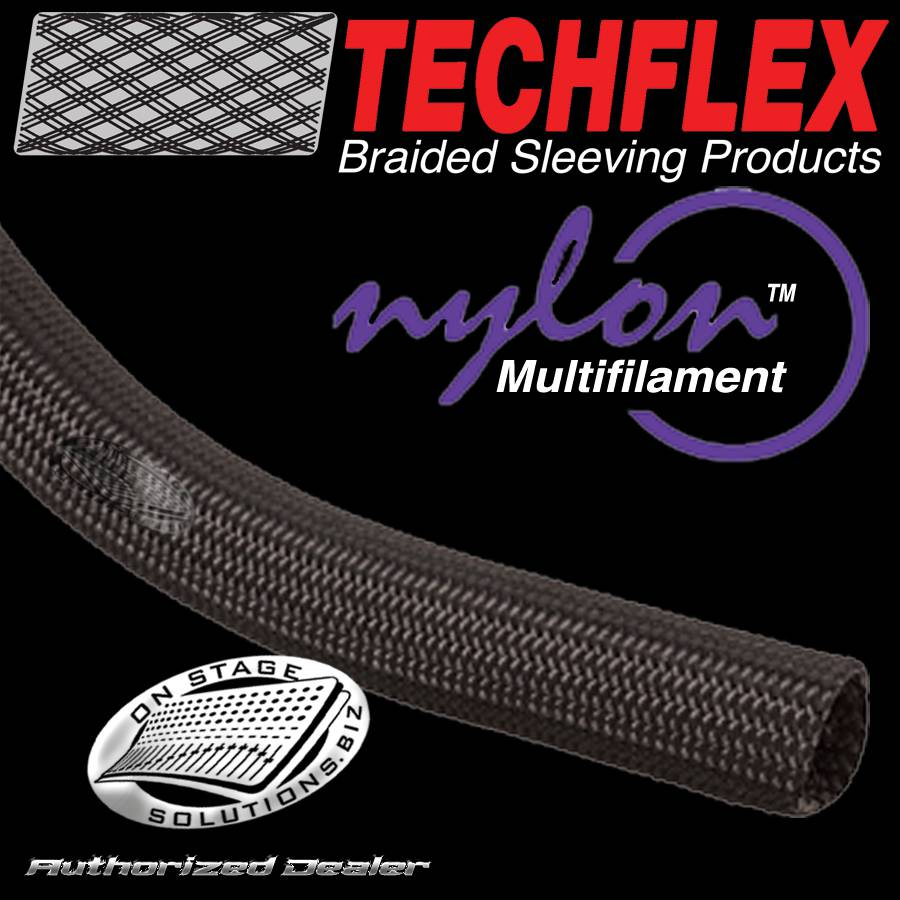 Techflex Nylon Multifilament Braided Sleeving